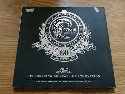 2012 Paperback O'Neill 60 Years Of Innovation Surfing Surfers Rare Surf Book