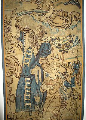 An Early Antique Tapestry - Abraham and The Binding of Isaac