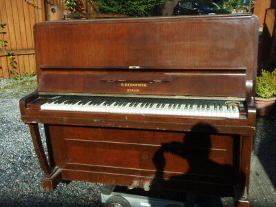 C Bechstein Upright Piano in Rosewood Case