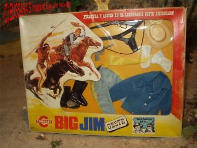 Big Jim Oeste - Karl May Outfit  Kavallerie - OVP - CONGOST  - Cavalry - MIB