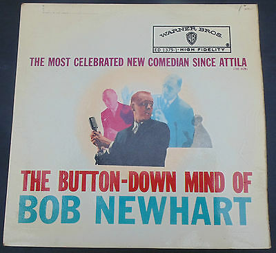 Bob Newhart - Collection 0f 3 EP's The Button Down Mind / Vol. 2 & on TV
