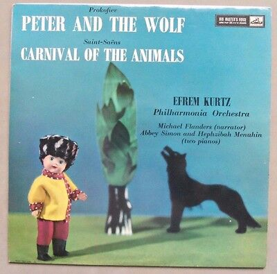 Peter And The Wolf /Carnival Of The Animals - Efrem Kurtz Philharmonia Orchestra