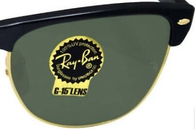 New Authentic Replacement Rayban lenses Sunglasses Metal RB4175 57-16 G15 Green