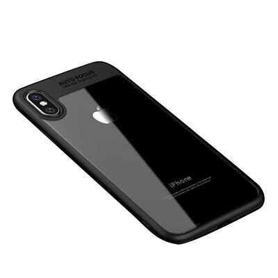 iPhone X Case, Ultra Thin Crystal Clear Bumper Hard Back Case Cover for iPhone X