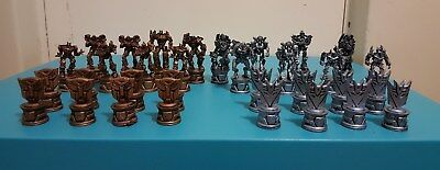 Transformers Movie Chess Set Pieces 2006 Hasbro Kids Games Collectable Toys