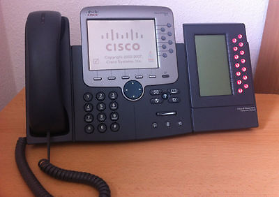 Cisco CP-7971 IP Phone with 7914 Expension Module. Fast Delivery