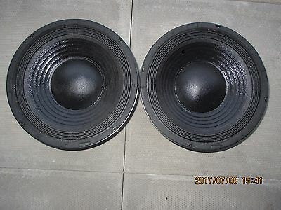 Two Skytronic 902.433 10 Inch Replacement Speaker Driver 200W 8 ohm