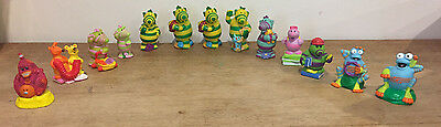 13 Fimbles Collectable Figures - Roly Mo, Little Bo, Bessie, Rockit, Florrie etc
