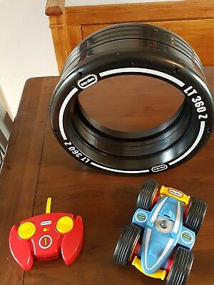 COLLECTION ONLY Little Tikes Tyre Twister Radio Controller Car Toy