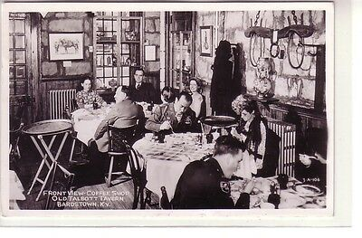 Real Photo ! Coffee Shop at Old Talbott Tavern, Bardstown, Kentucky !