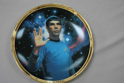The Star Trek* 25th Anniversary Commemorative Collection: Spock plate