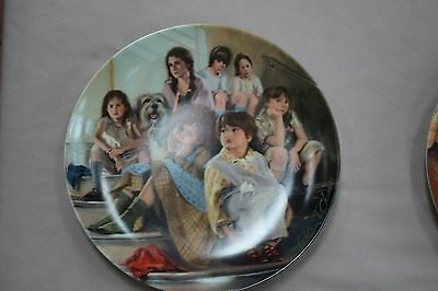 Annie Collector Plate Series Annie and the Orphans