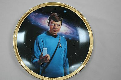The Star Trek* 25th Anniversary Commemorative Collection: McCoy plate