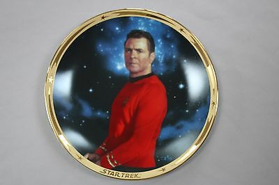 The Star Trek* 25th Anniversary Commemorative Collection: Scotty plate