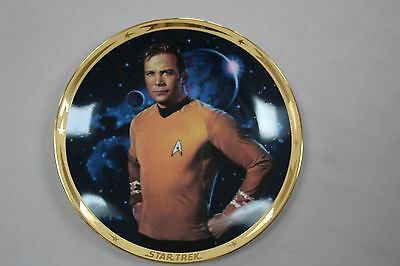 The Star Trek* 25th Anniversary Commemorative Collection: kirk plate