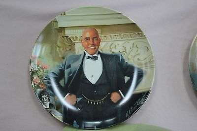 Annie Collector Plate Series  Daddy Warbucks