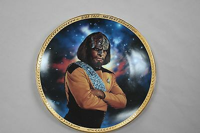 Star Trek: The Next Generation plate Collection: Worf