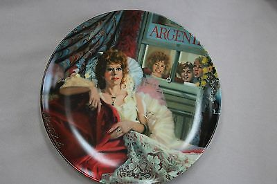 Annie Collector Plate Series Annie and Miss Hannigan