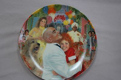 Annie Collector Plate Series Annie & Daddy Warbucks:The Finale