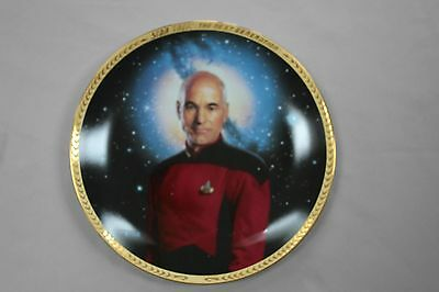Star Trek: The Next Generation plate Collection: Jean Luc Picard