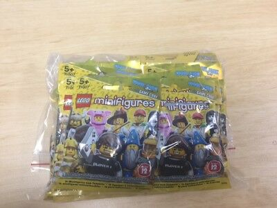 Lego Minifigures Series 12 71007 FULL COMPLETE SET OF 16  (NEW)