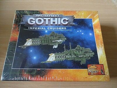 Battlefleet Gothic Imperial Cruisers NEW & SEALED 40K GW OOP