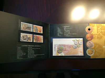 Hong Kong Stamps 2004 Currency Thematic Booklet set
