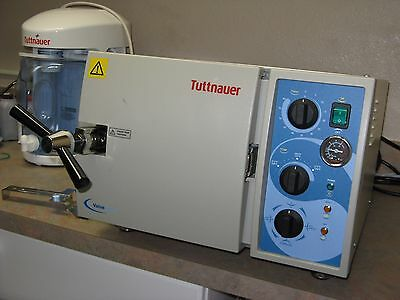 Tuttnauer 1730 Table-Top Valueklave Autoclave, used