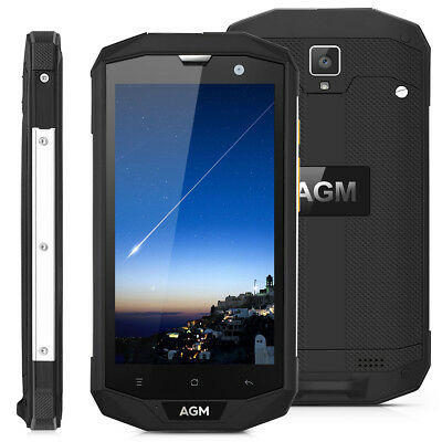 Impermeabile Cellulare 5'' AGM A8 4G Android 7.0 Smartphone 3GB/32GB 4050mAh NFC