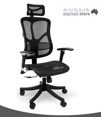 New High Quality Ergonomic Office Task Chair with Mesh Backrest and Seat