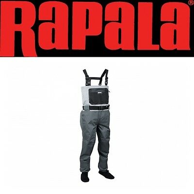 Rapala X-Protect Chest Waders Taglia L SPECIALE BELLY BOAT PESCA MOSCA