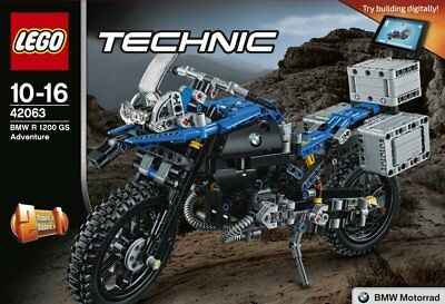 Lego - Technic - 42063 - Moto Bmw R 1200 Gs - Neuf Et Scellé - New And Sealed