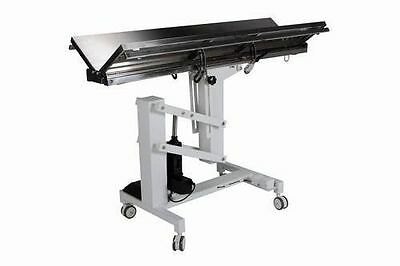 New Veterinary Surgical Operating Table Model FT-828 Electric Lift V-Top Tilt