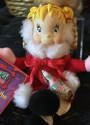 Cindy Lou Who Pose 'N Play Doll How the Grinch Stole Christmas Vintage (2000)