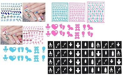 Baby Boy - Baby Girl  Collection Nail Art -  Nail Stickers - Stickers