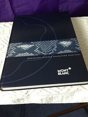 Montblanc Leather Collection 2010/2011 Master Catalogue
