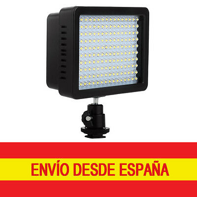 Panel Luz LED 160 piezas Regulable Cámara Foto Video Digital DSLR +Filtros LF182