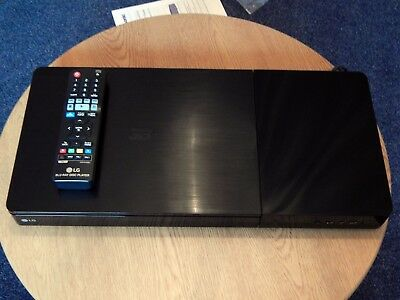 LG BP736 4K Upscaling Support Wireless Streaming 3D Blu-ray Disc / DVD Player