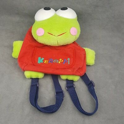 1997 Sanrio Keroppi Child Sized Backpack Bag