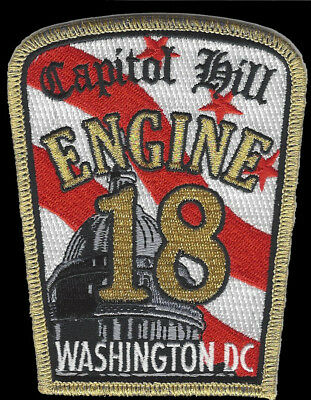 Dcfd Engine 18 Capitol Hill Washington Dc (New Oct. 2017) Fire Patch