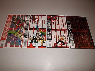 Deadpool The Circle Chase #1-4  (Complete 1993 Marvel Series) 1 2 3 4