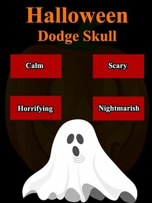 Halloween Dodge Skull - Android App RIGHTS for Sale