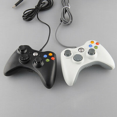 New Wired USB Game Gaming Controller Joypad For XBOX 360 Slim Computer Mac