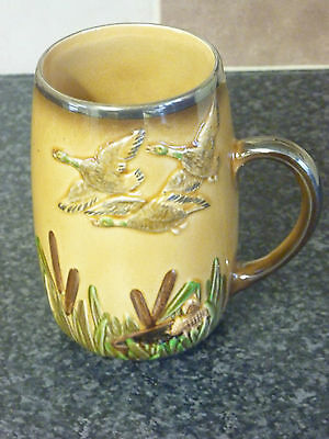 "Vintage Sylvac Ware 3226 Gaming Tankard 5"" High Fully Marked On Base Ex Con"