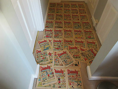 The Dandy Comics X 43 From 1972-Like The Beano-Dc Thompsom-All Are Complete