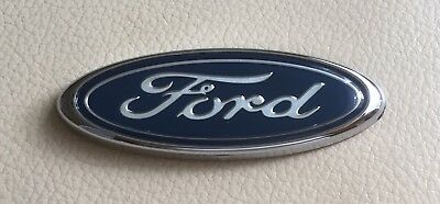 Oval Ford Logo Front Rear Boot Badge Emblem for Mondeo Escort Fiesta Focus 75mm