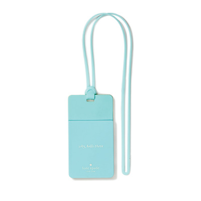 kate spade new york Colorblock Turquoise/Green ID Holder - NWT