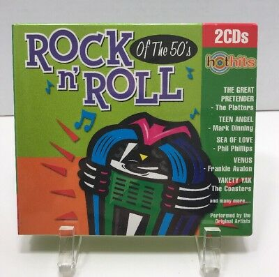 New Hot Hits: Rock N' Roll of the 50's [Box] by Various Artists (CD, 1999, 2...
