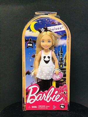 Barbie Chelsea Halloween Ghost Doll CMM22
