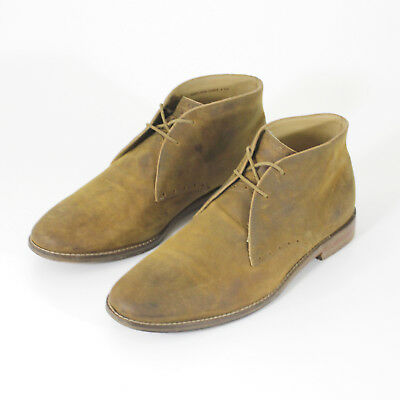 Cole Haan Chukka Boots Mens Size 9.5 M Light Brown Leather 49150